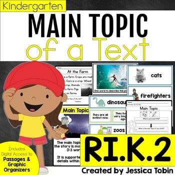 RI.K.2 Main Topic of a Nonfiction Text