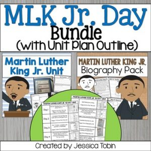 Martin Luther King Jr. Activities Bundle