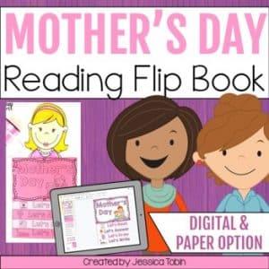 Mother's Day Activities Flip Book