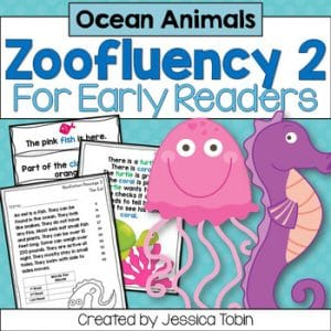 Ocean Fluency for Early Readers - Zoofluency 2