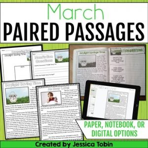 March Paired Passages