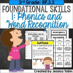 RF3.3 Phonics and Word Recognition