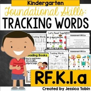 RF.K.1.a Tracking Words