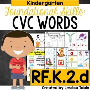 RF.K.2.d CVC Words