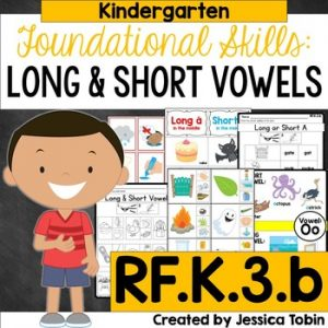 RF.K.3.b Long and Short Vowels