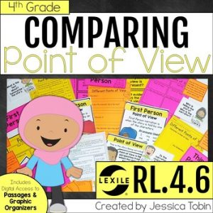 RL.4.6 Point of View 4th Grade