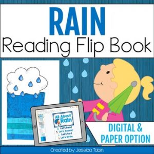 Rain Reading Flip Book