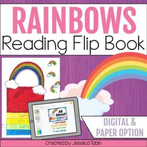 Rainbow Reading Flip Book