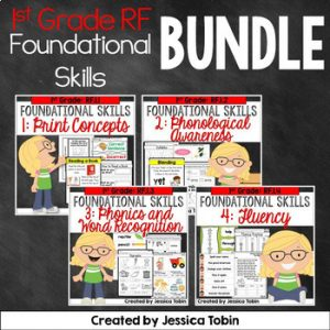 1st Grade Reading Foundational Skills Bundle