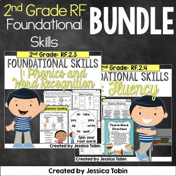 2nd Grade Reading Foundational Skills Bundle