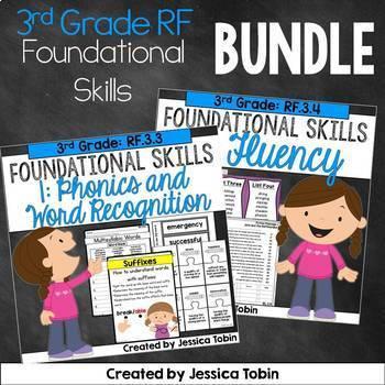 3rd Grade Reading Foundational Skills Bundle