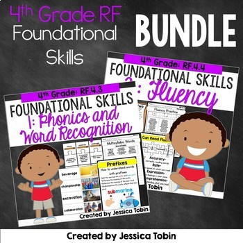4th Grade Reading Foundational Skills Bundle
