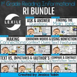 1st Grade Reading Informational Bundle