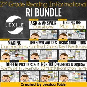 3rd Grade Reading Informational Bundle