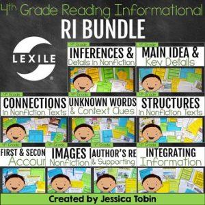 4th Grade Reading Informational Bundle