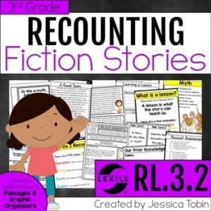 RL.3.2 Recounting a Story, Myth, Folk Tale, or Fable