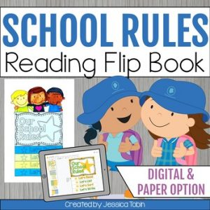 School Rules and Procedures Flip Book