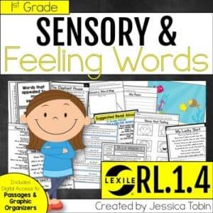 RL.1.4 Sensory Words and Feelings in Poetry