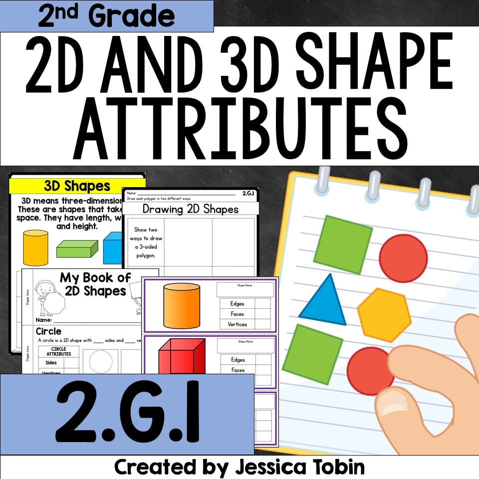 2D and 3D Shape Attributes unit activities