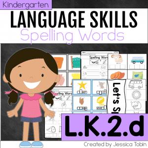 L.K.2.d Spelling Words Phonetically