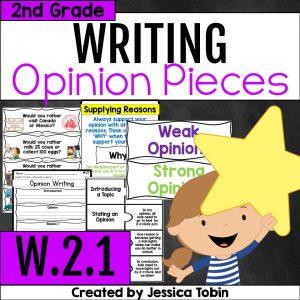 W.2.1 Opinion Writing 2nd Grade