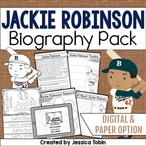 Jackie Robinson Biography Pack