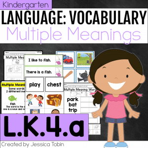 L.K.4.a Multiple Meaning Words