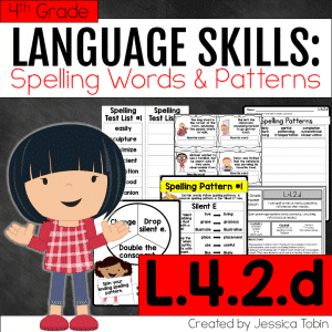 L.4.2.d- Spelling Words