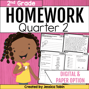 2nd Grade Homework- 2nd Quarter