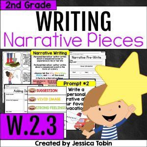 W.2.3 2nd Grade Narrative Writing
