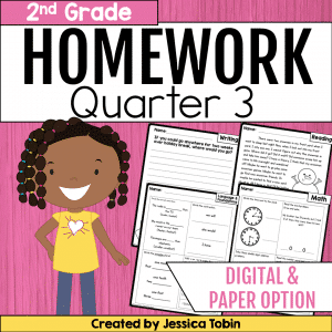 Homework Second Grade- 3rd Quarter