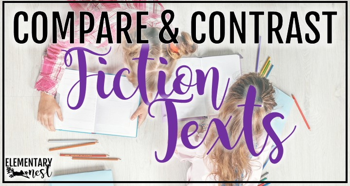 Compare and Contrast Activities for Fiction Texts