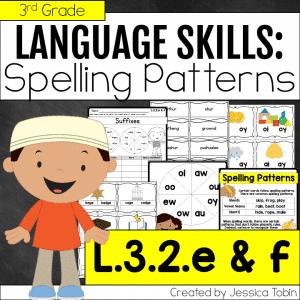 L.3.2.e & L.3.2.f Spelling Patterns
