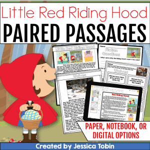 Little Red Riding Hood Paired Passages