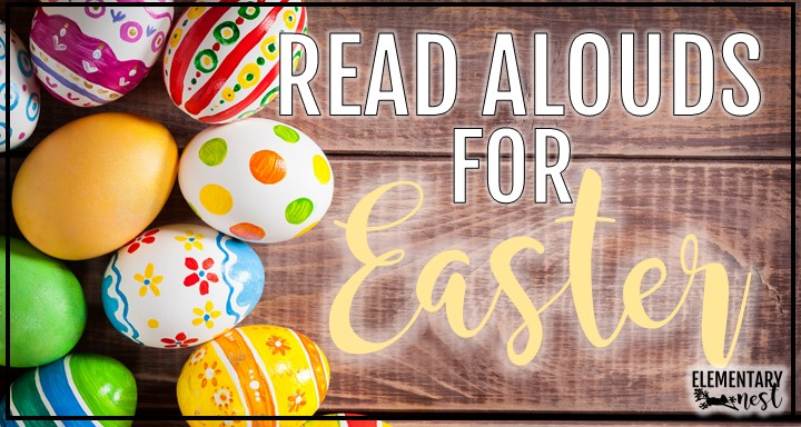 Easter reading activities blog post