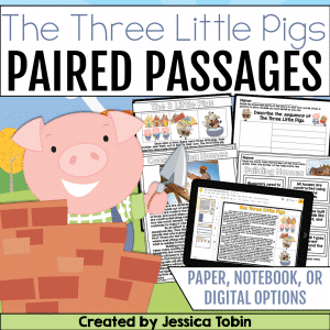 Three Little Pigs Paired Passages