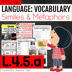 L.4.5.a Similes and Metaphors