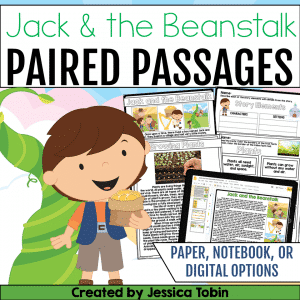 Jack and the Beanstalk Paired Passages