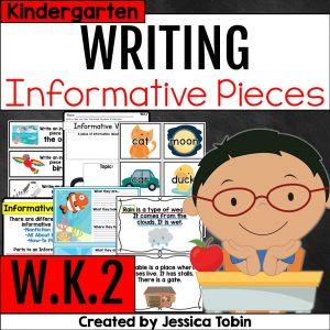 W.K.2 Informative and Explanatory Writing
