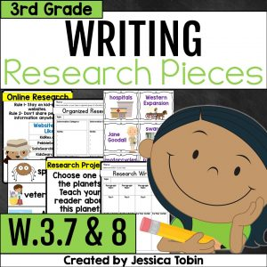 W.3.7 and W.3.8 Research Writing