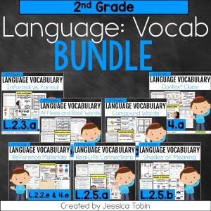 2nd Grade Language Vocabulary Bundle
