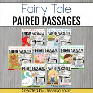 Fairy Tale Reading Passages Bundle