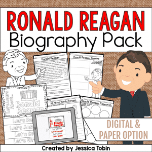 Ronald Reagan Biography Pack