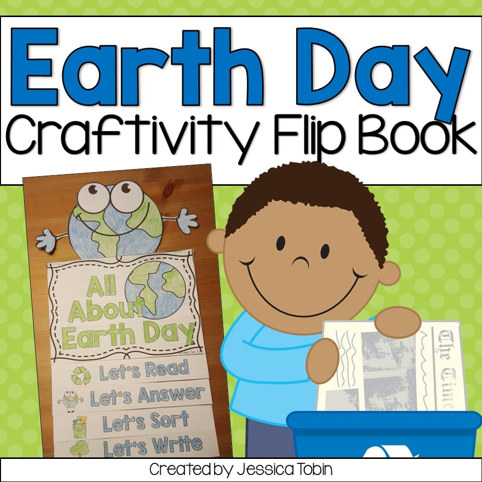 Earth Day flip book resource for students