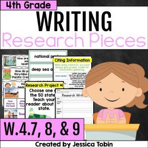W.4.7 W.4.8 W.4.9 Research Writing