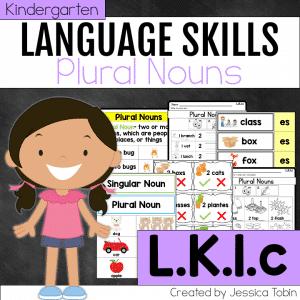 L.K.1.c Plural Nouns