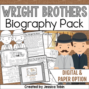 The Wright Brothers Biography Pack