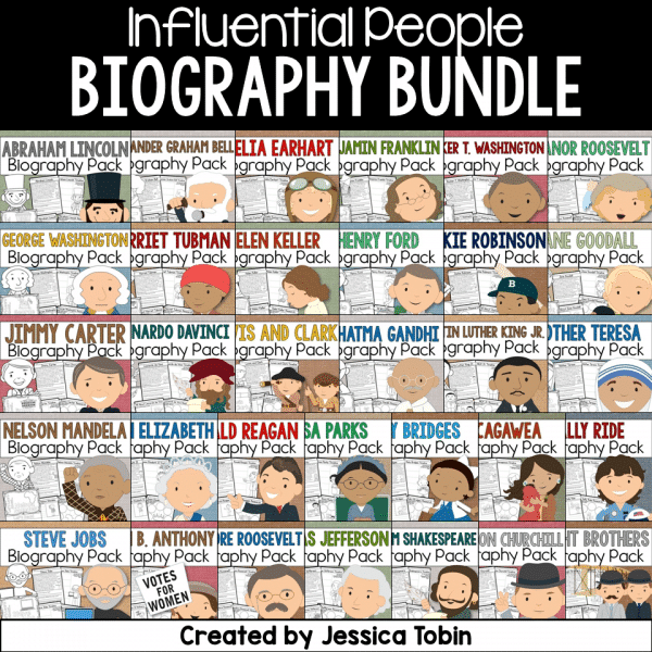 Influential People Biography Bundle