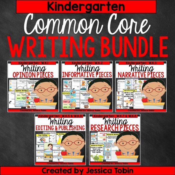 Kindergarten Writing Bundle