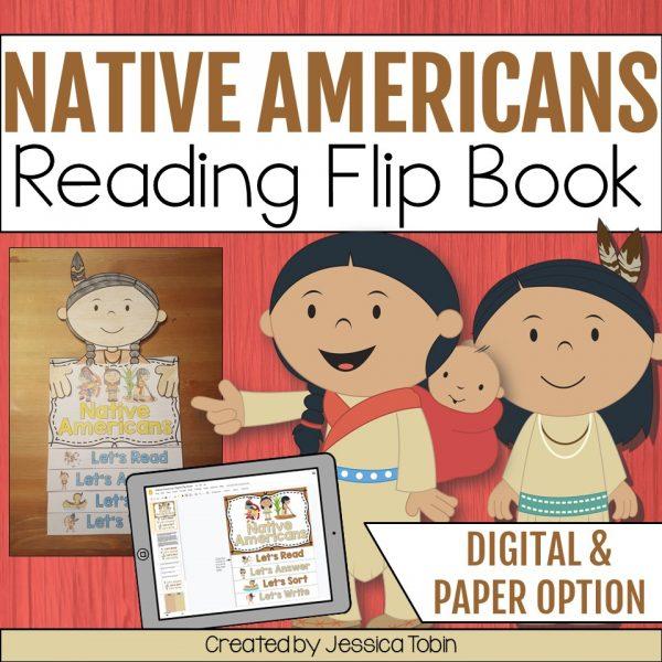 Native Americans Flip Book
